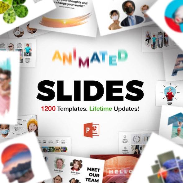 Animated Slides Bundle for PowerPoint Presentation