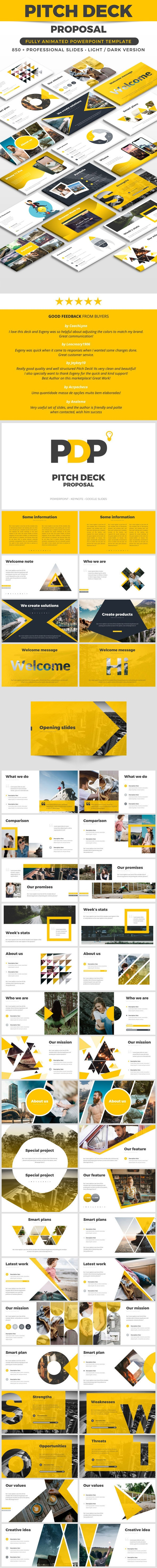 Pitch Deck Proposal - Pitch Deck PowerPoint Templates