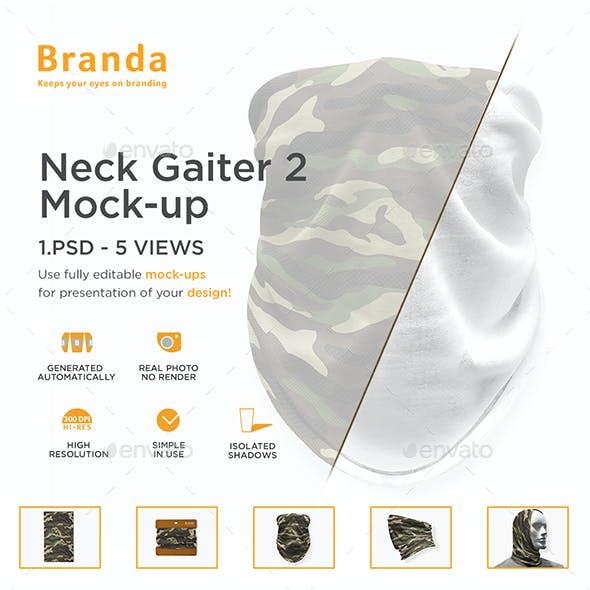 Neck Gaiter 2 Mock-up