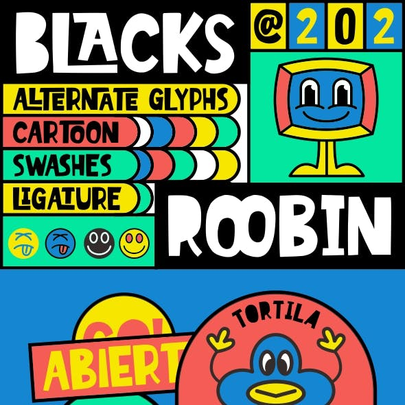 Blacks Roobin