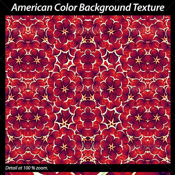 American Colors Background Texture