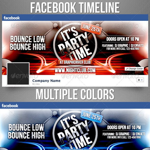 It's Party Time Facebook Timeline