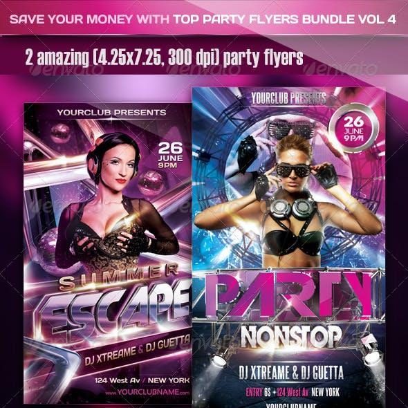 Top Party Flyer Bundle Vol4