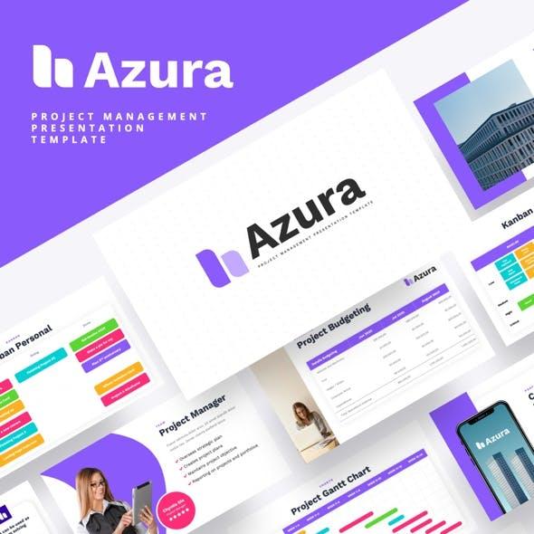 AZURA - Project Management Keynote Template