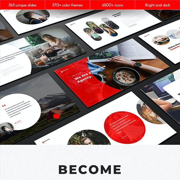 Become Multipurpose PowerPoint Template