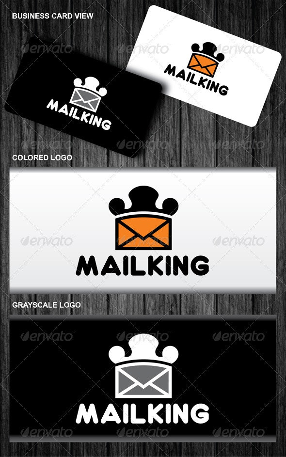 Mail King Logo - Symbols Logo Templates