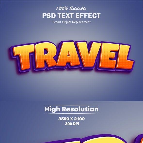 3D Popup Text Effect