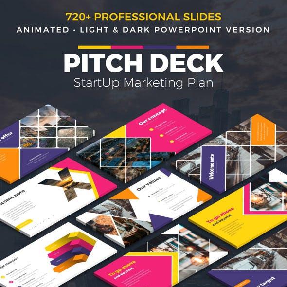 Pitch Deck StartUp Powerpoint