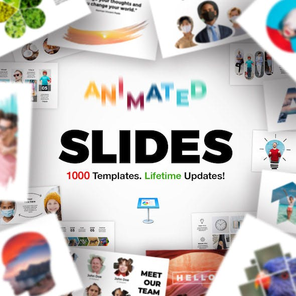Animated Slides Bundle for Keynote Presentation.