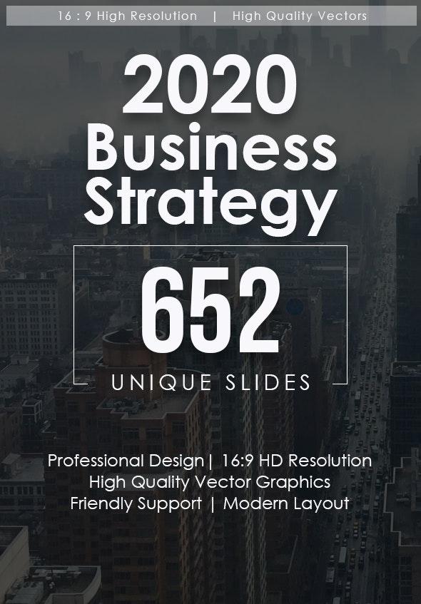 2020 Business Strategy Google Slides Bundle