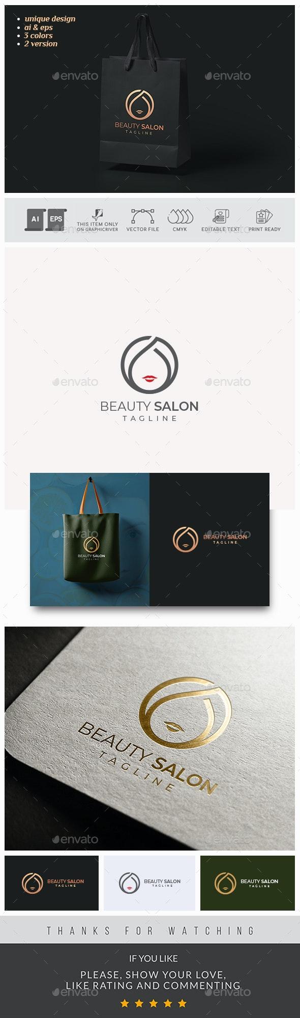 Beauty Salon Logo - Humans Logo Templates