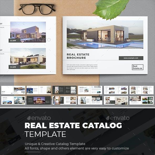 Real Estate Catalog Brochure