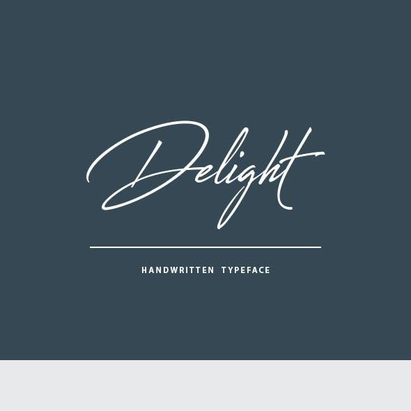Delight Handwritten Font