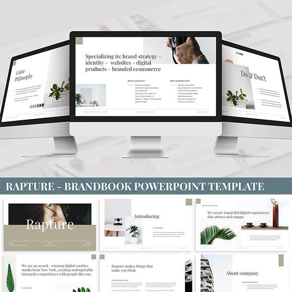 Rapture - Brandbook Powerpoint Template