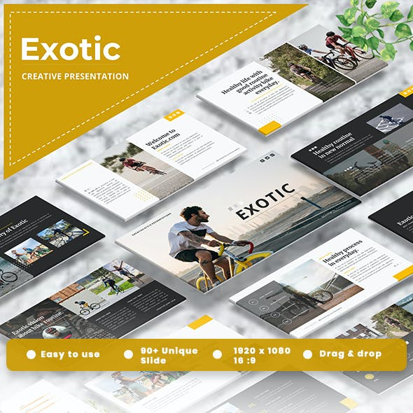 Exotic - Creative Googleslide Template