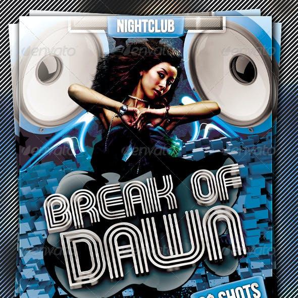 Break Of Dawn Flyer Template Vol.2