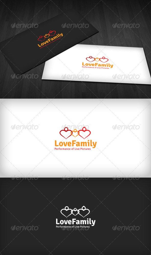 Love Family Logo - Humans Logo Templates
