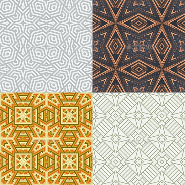 Bundle - Seamless Pattern Background V.2