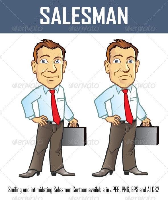 Salesman - People Characters