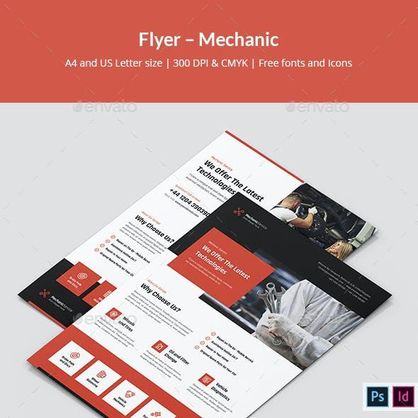 Flyer – Mechanic