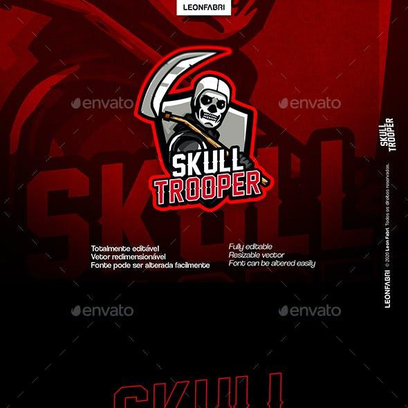 Skull Trooper Gaming eSports Logo