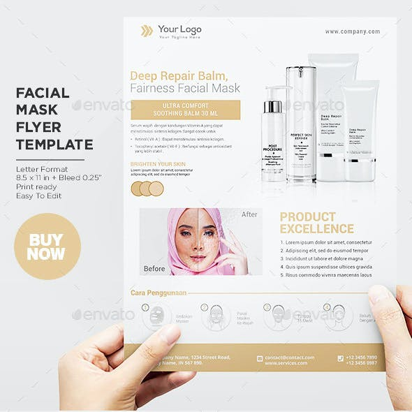 Product Flyer Healthy Face