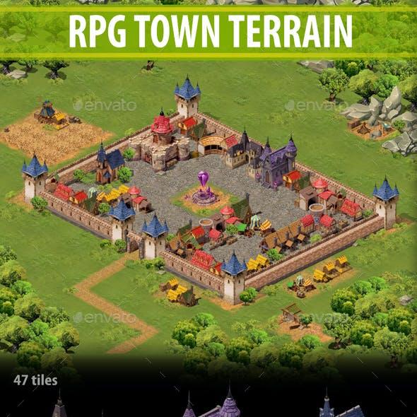 RPG Town Terrain