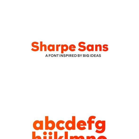 Sharpe Sans Serif Font
