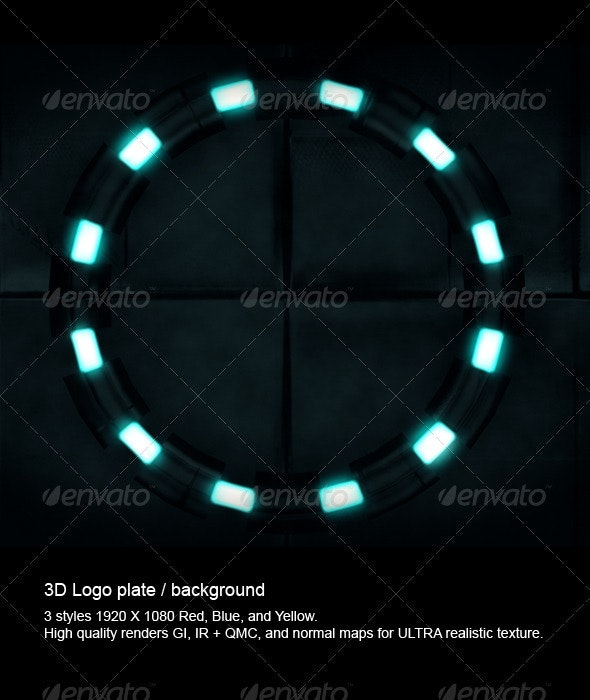 Plates Background - Tech / Futuristic Backgrounds
