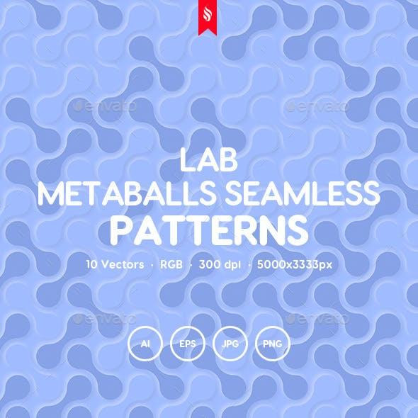 Lab - Metaballs Seamless Patterns