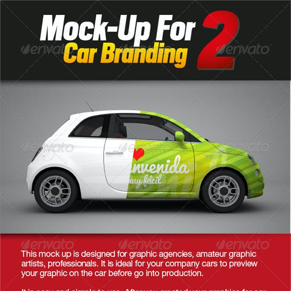 Mock-up for Car Branding 2