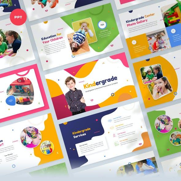 Kindergarten & Preschool PowerPoint Template