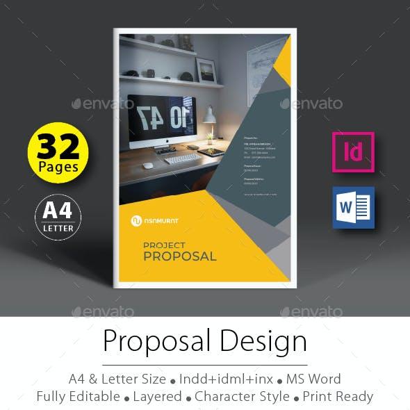 Project Proposal Design Template V.6