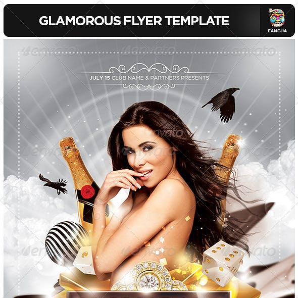 Glamorous Flyer Template
