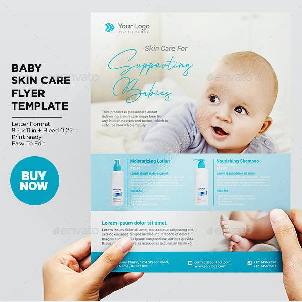 Product Flyer Baby Skincare