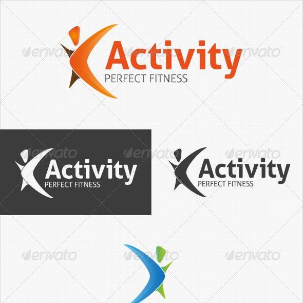 Activity Fitness Logo