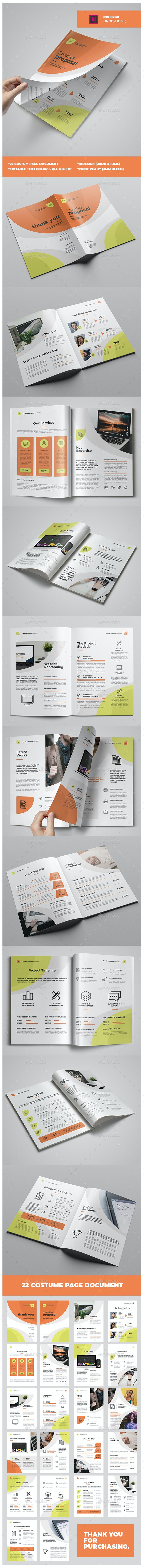 Creative Proposal - Proposals & Invoices Stationery