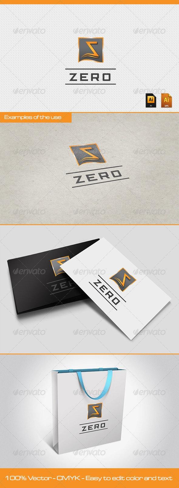 ZERO Logo Template - Symbols Logo Templates