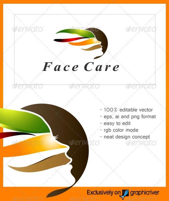 FaceCare Beauty Logo - Vector Abstract