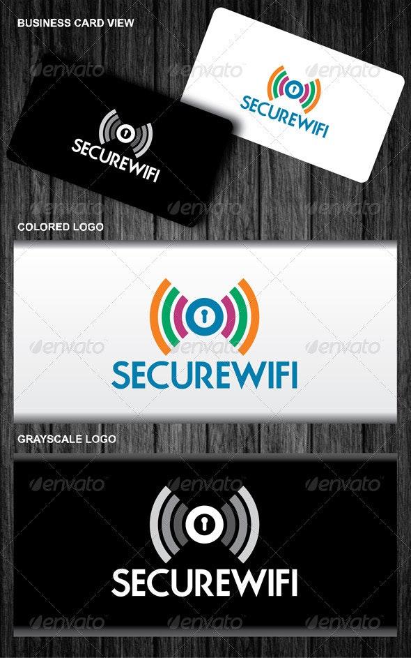 Secure Wifi  Logo - Symbols Logo Templates