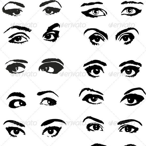 Eye Woman Set