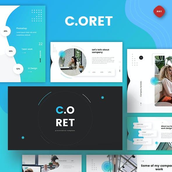 Coret - Corporate Powerpoint