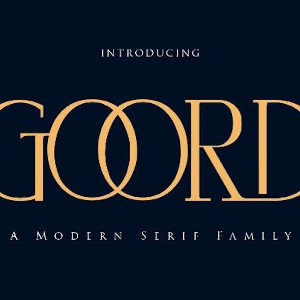 Goord - Modern Serif Family
