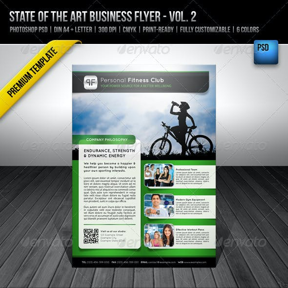 State of the Art Business Flyer - Vol. 2