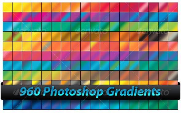 Photoshop Gradients - Photoshop Add-ons