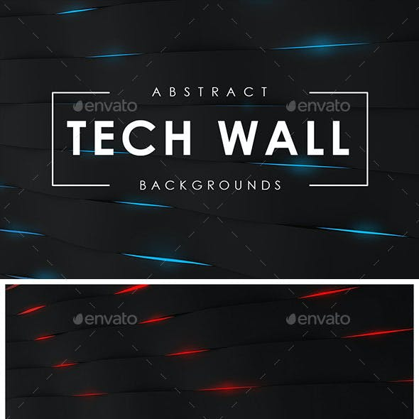 Tech Wall Backgrounds
