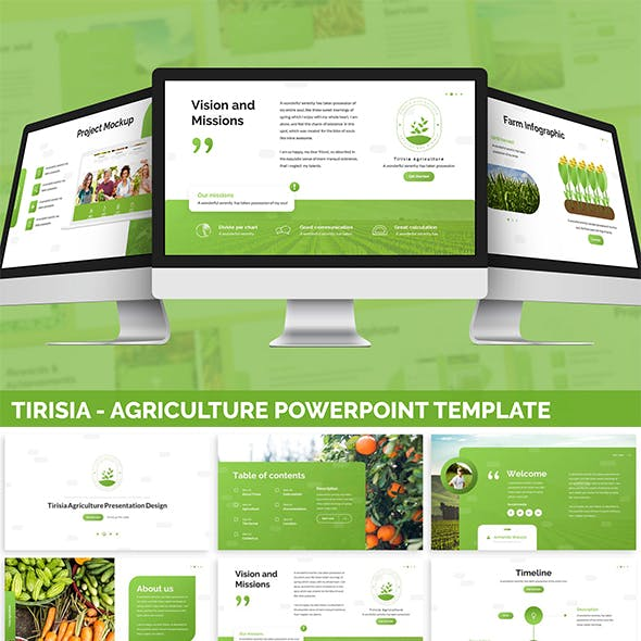Tirisia - Agriculture Powerpoint Template