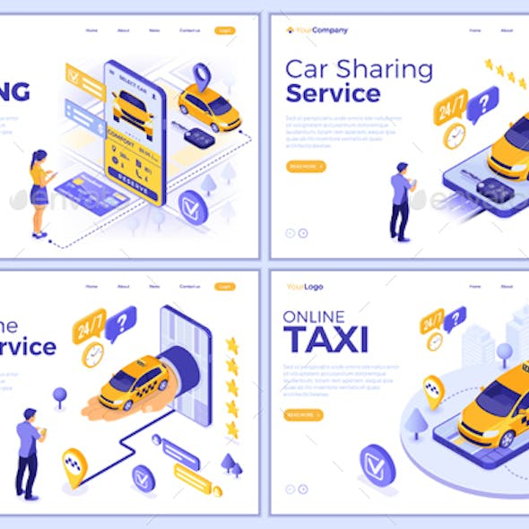 Isometric Car Sharing and Online Taxi