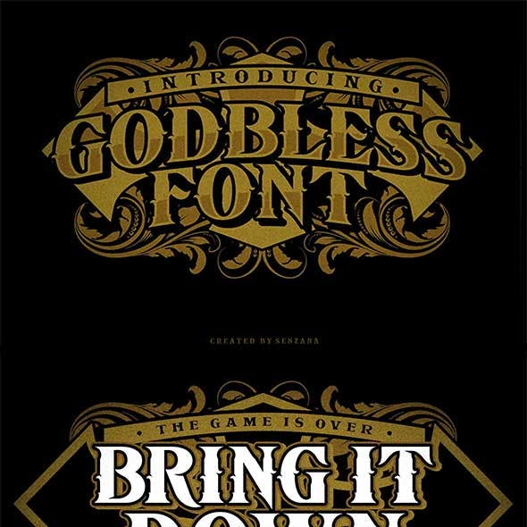 Godbless Font