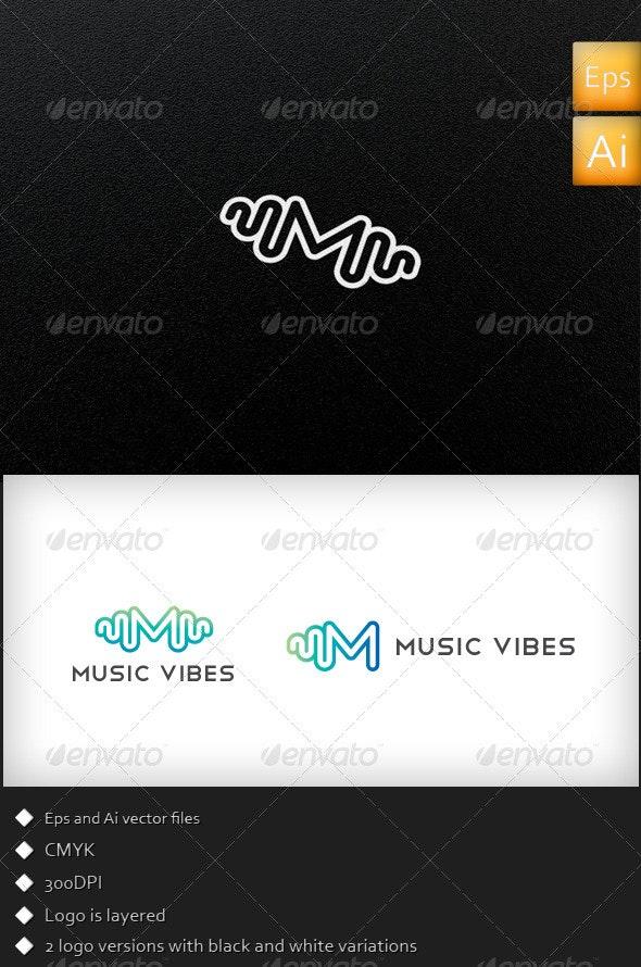 Music Vibes - Logo Template - Symbols Logo Templates